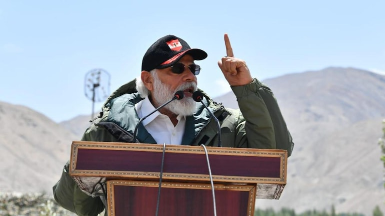 India's enemies have seen both your fire and fury: PM Modi tells 14 Corps soldiers in Ladakh