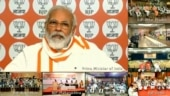 BJP not just election-winning machine, it does service of people: PM Modi lauds party workers | Highlights
