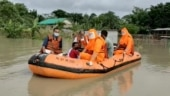 Assam: NDRF teams rescue over 1,000 people in flood-hit districts