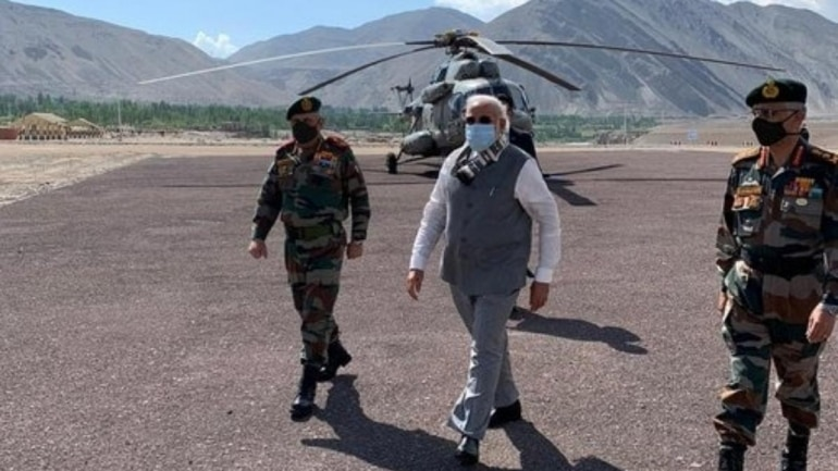PM Narendra Modi in Ladakh: 5 things to note as troops look into ...