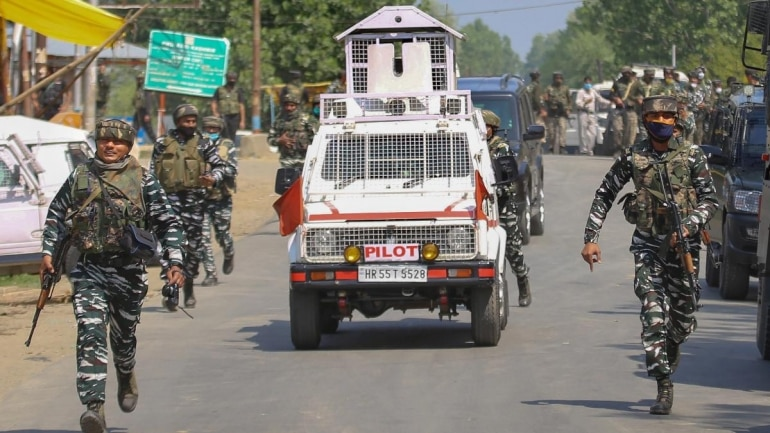 As the search was continuing, the holed up militants opened fire at the approaching security forces, resulting in an encounter. (File photo: PTI)