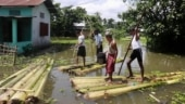 Assam flood death toll nears 80, over 27 lakh people still affected