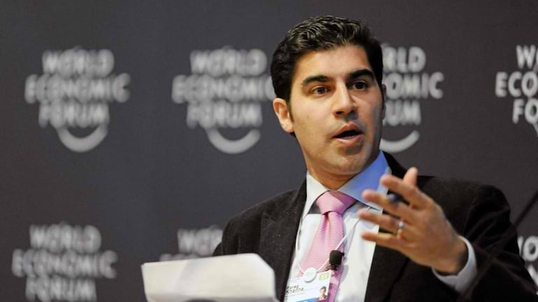 File photo of strategic affairs expert and futurologist Parag Khanna