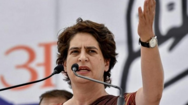 Priyanka Gandhi to speak with UP Congress leaders over state's law and order