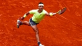 Watch: Rafael Nadal adds touch of class to his training as he sweeps his court after session