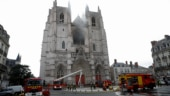 Fire destroys organ, shatters stained glass at Nantes cathedral in France