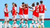 FA Cup: Pierre-Emerick Aubameyang brace helps Arsenal beat Manchester City 2-0 to enter final