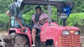 Salman Khan shares new farming video from Panvel farmhouse, ploughs land on a tractor. Watch