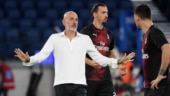 He said something which I didn't understand: Milan coach on Zlatan Ibrahimovic's angry substitution reaction
