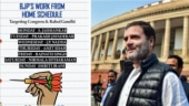Congress's 'work from home' roster for BJP has Twitter in splits