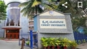 Students protest against Christ University for not following UGC orders and conducting exams