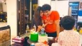 Soundarya Rajinikanth wishes husband Vishagan Vanangamudi on birthday: Thank you for being you
