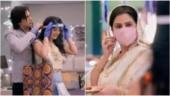 Actors seen in mask and face shield on Yeh Rishta Kya Kehlata Hai. Video goes viral