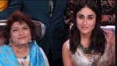Kareena Kapoor remembers Saroj Khan: Love you, Masterji. Dance can never be the same for us