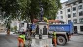 UK: Black Lives Matter activist statue removed from pedestal in Bristol