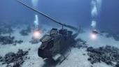 Fact Check: Chopper at Jordan underwater museum shared as IAF Apache below Pangong Tso