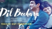 Dil Bechara: Sushant Singh Rajput and Sanjana Sanghi's film trailer to release on July 6