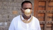 Pune man wears gold mask worth Rs 2.89 lakh to protect himself from coronavirus