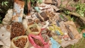 Terror hideout busted in J&K's Rajouri, arms, ammunition recovered