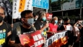Hong Kong police arrest stabbing suspect after security law protests