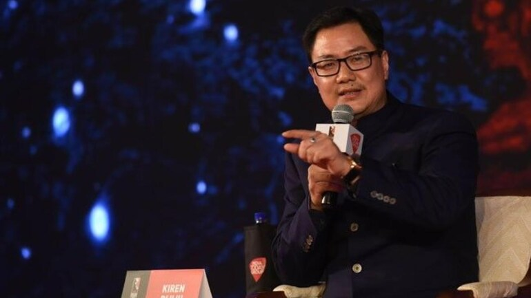 Union Minister of Youth Affairs and Sports Kiren Rijiju (Courtesy- India Today)