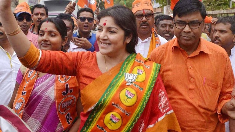 Bengal BJP MP Locket Chatterjee tests positive for Covid-19 - India News