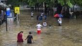 Heavy rains continue to lash Mumbai, low-lying areas waterlogged