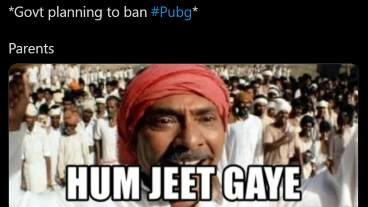 Pubg Ban In India Desi Twitter Floods Internet With Hilarious Memes Trending News News