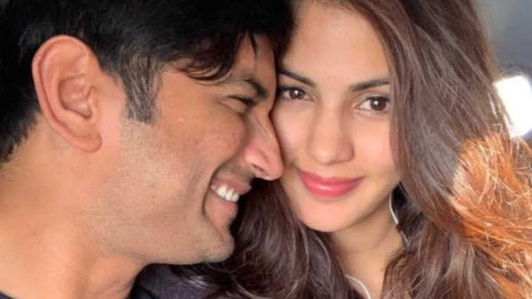 Sushant and Rhea were in a relationship before the actor died by suicide on June 14.