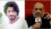 Vidyut Jammwal gives Amit Shah a tight virtual hug... By mistake