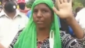 Indore: Vegetable seller with PhD degree protests in fluent English. Watch viral video