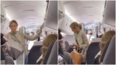 Passengers cheer after woman gets kicked off flight for refusing to wear face mask. Viral video