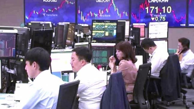 World shares eye five-month peak as earnings season starts