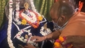UP CM Yogi Adityanath visits Ayodhya, reviews preparations for Ram Temple 'bhoomi pujan'