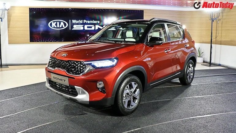Kia Sonet Bookings Launch Expected Price Features