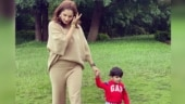 Sania Mirza and son Izhaan enjoy a walk in new post: You are part of me, my little one