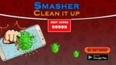 Smasher: Clean It Up is an Android game for these times and it is easy enough to be enjoyed by all