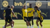 Borrusia Dortmund's Jadon Sancho heads to pre-season training camp amid Manchester United transfer speculation