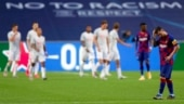 Barcelona manager Quique Setien says 'too soon' to be talking about his future after Champions League exit