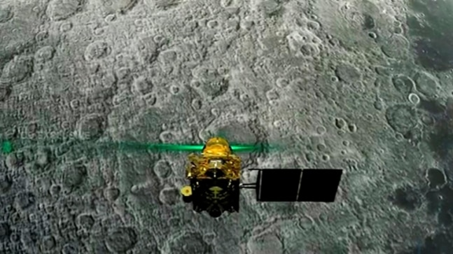 Chandrayaan-2 captures crater on Moon, ISRO names it after Vikram Sarabhai