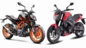 2020 BS6 Dominar 250 vs KTM 250 Duke BS6 Duke: Specification Comparison