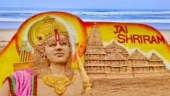 Ram Mandir Bhoomi Pujan: Sudarsan Pattnaik creates sand art of Ram Temple on Puri beach. See pics