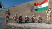 Carrying tricolour, chanting Bharat Mata ki Jai, ITBP jawans celebrate I-Day at 14,000 feet in Ladakh | Watch