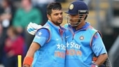 Both Suresh Raina and his captain MS Dhoni were out for a duck in their respective ODI debuts