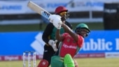 Nicholas Pooran scores CPL's 3rd fastest hundred as Guyana Amazon Warriors beat St Kitts and Nevis Patriots