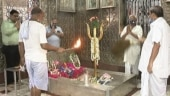 Kolkata: 300-year-old Bhasm aarti continues at Bhootnath temple during coronavirus pandemic