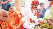 Celebrations at Ravana temple in Noida to mark bhoomi pujan