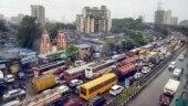 Rains: Maharashtra minister gets stuck in traffic snarl on Freeway