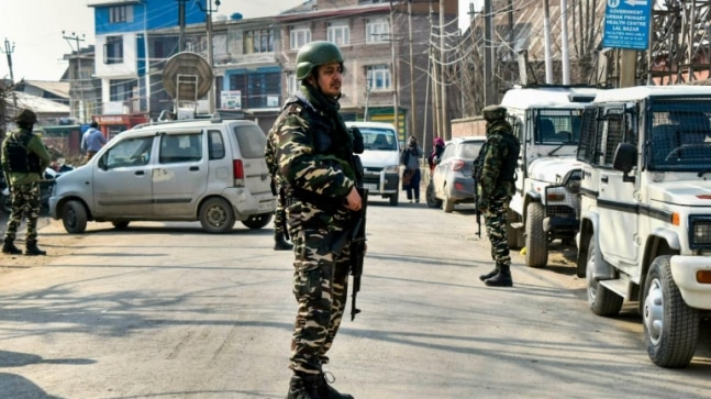 Hand grenade found by roadside in Pulwama of Jammu and Kashmir