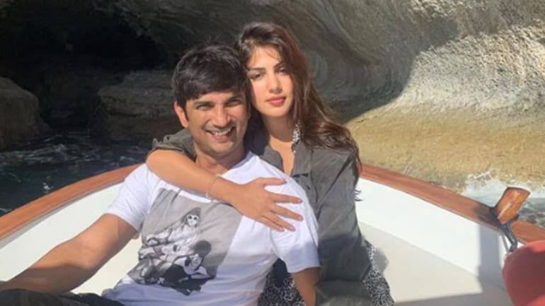 Sushant Singh Rajput and Rhea Chakraborty went on a Europe trip in October 2019.